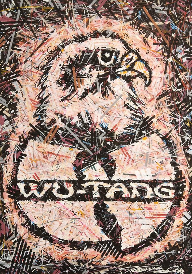 wu tang clan , Ghostface Killah , Ivan Beslic , artisbullshit , Hip Hop art , Hip Hop