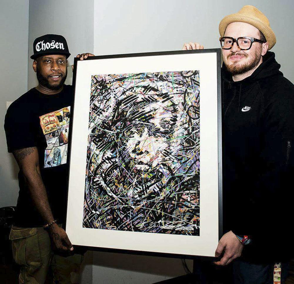 Talib Kweli , Ivan Beslic , blackstar , talib kweli art