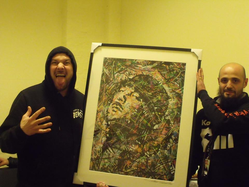 Kool savas , savas , kunst , optic records ,kunst , art , deutsch rap , essah , john bello , ivan beslic