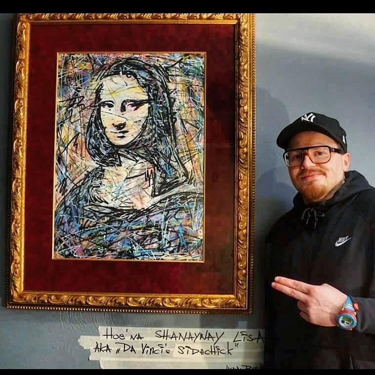 Mona Lisa , LOUVRE , markerart , Ivan beslic , monlisa , da vinci , davinci