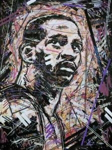 Vince Carter , Air Canada , Toronto Raptors , NBA Art , Ivan Beslic ,