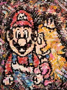 Super Mario , Nintendo , Love , gaming , gaming art , Retro , Nes , Snes , N64 , Ivan beslic , artwork