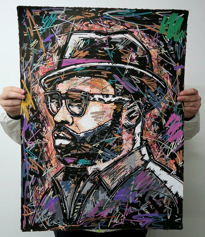 Blackthought, the Roots , Jimmy kimmel , real rap , Ivan Beslic , artisbullshit , Hip Hop art , Hip Hop