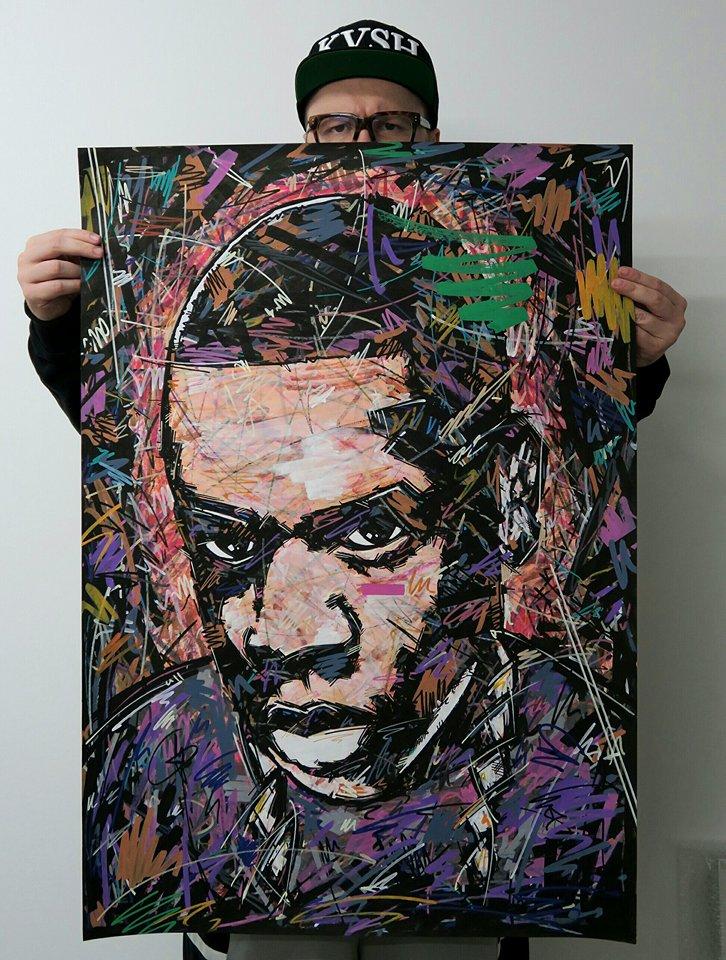 Jay Z , 444 , Jigga , Hova , Rocawear , Ivan Beslic , artisbullshit , Hip Hop art , Hip Hop