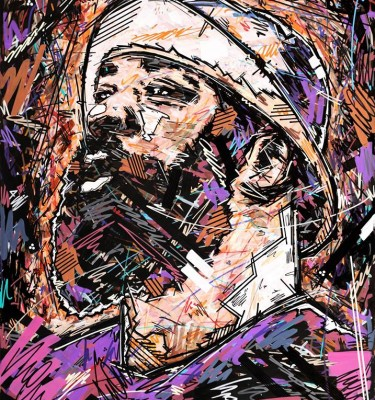 Sean Price , Duck Down , Sean P , Hip Hop legend , Art print, Ivan beslic