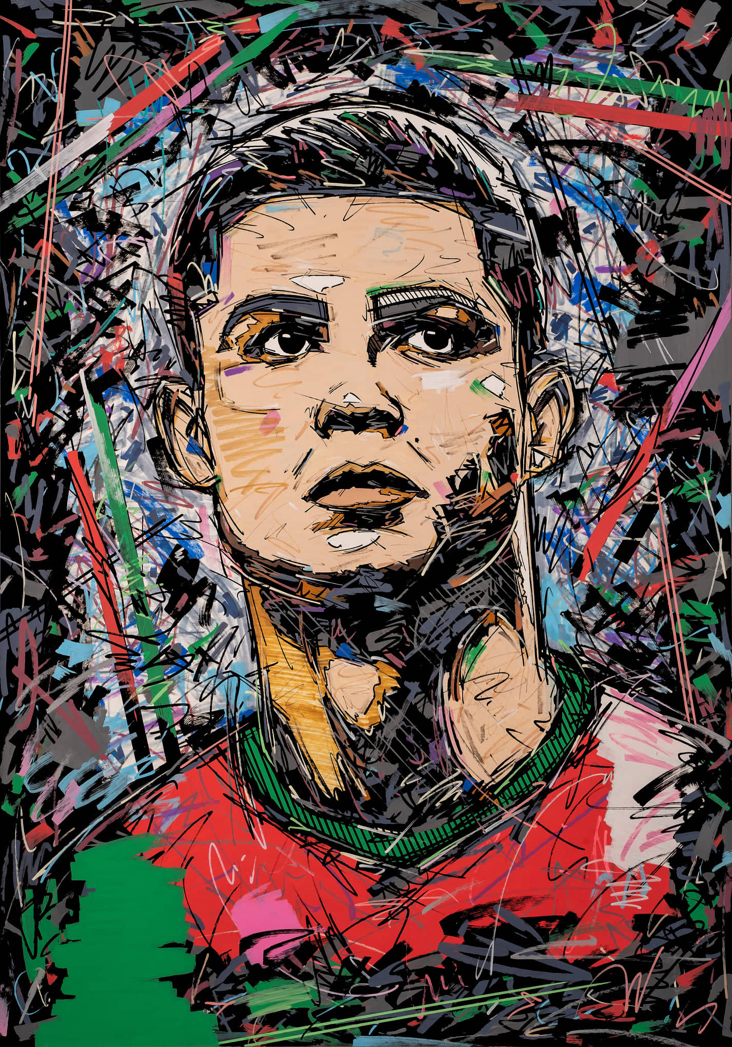 Cristiano Ronaldo , cr7 , portugal , 1xrun , soccer art , ivan beslic , artisbullshit , ronaldo art
